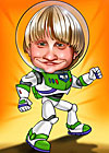 Caricaturas de Buzz Light Year
